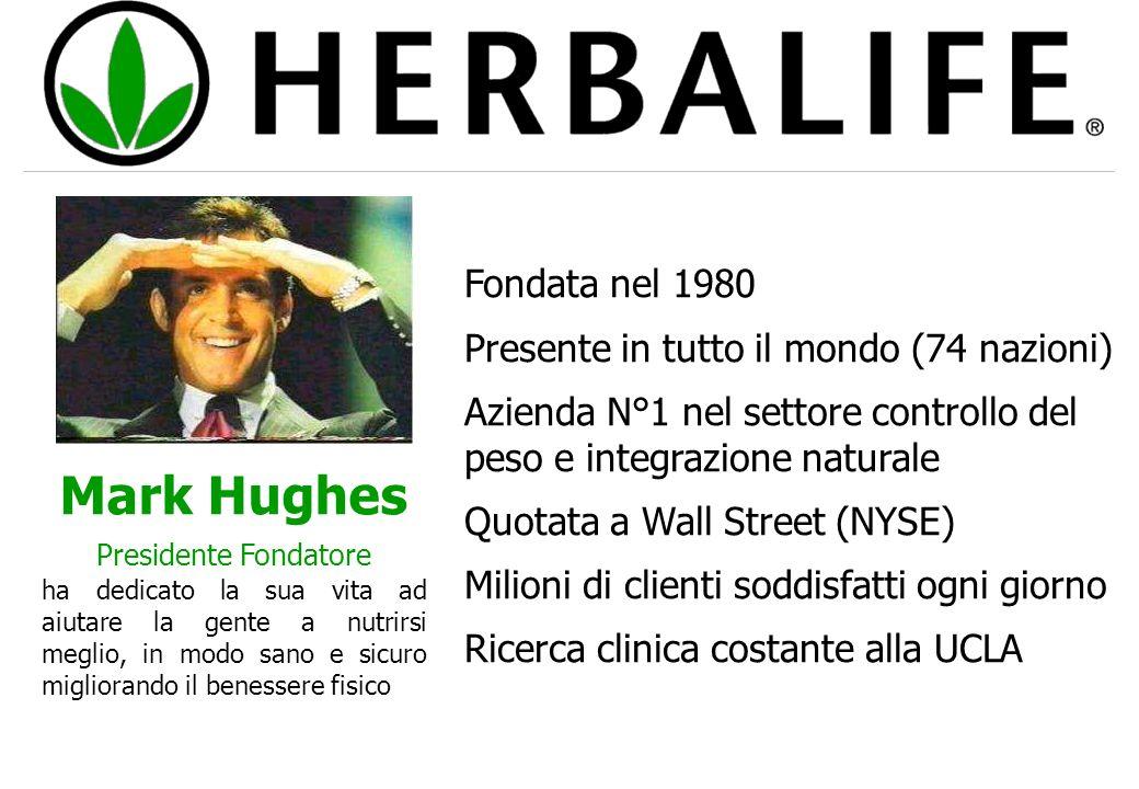 Mark Hughes Fondata nel 1980 Presente in tutto il mondo (74 nazioni)
