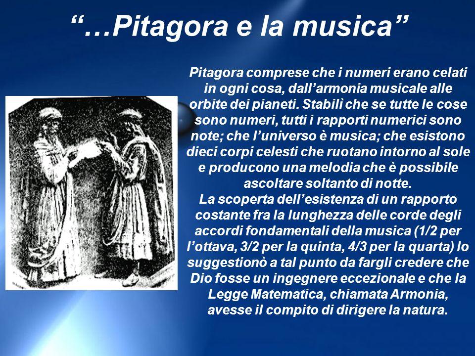 …Pitagora e la musica