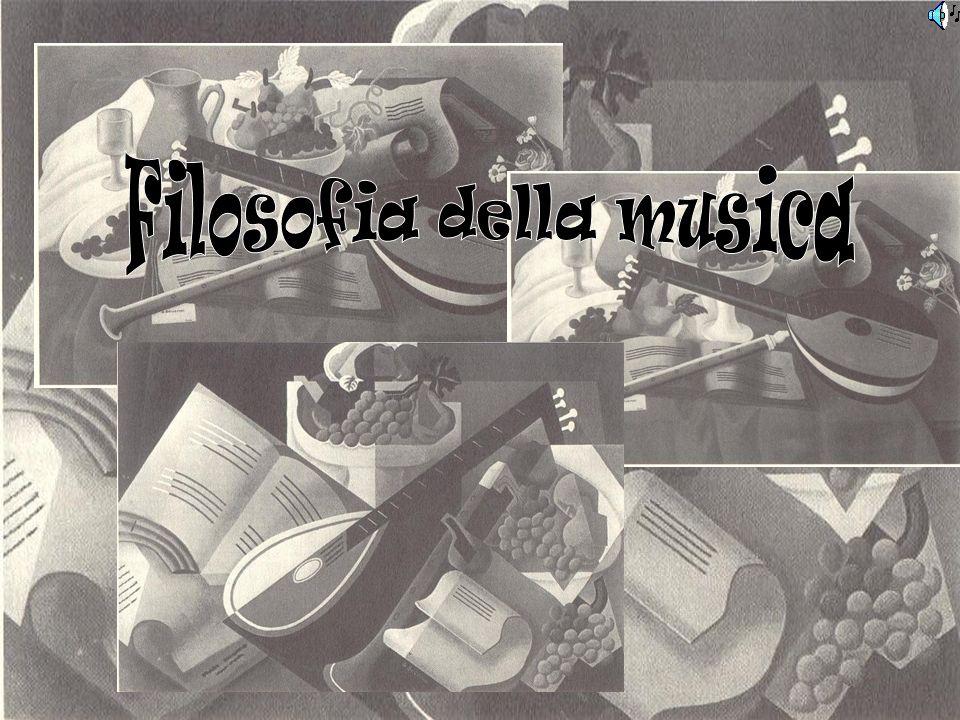 Filosofia della musica