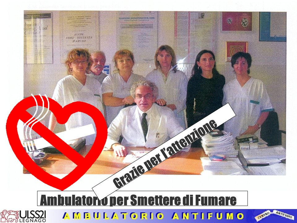 Ambulatorio per Smettere di Fumare