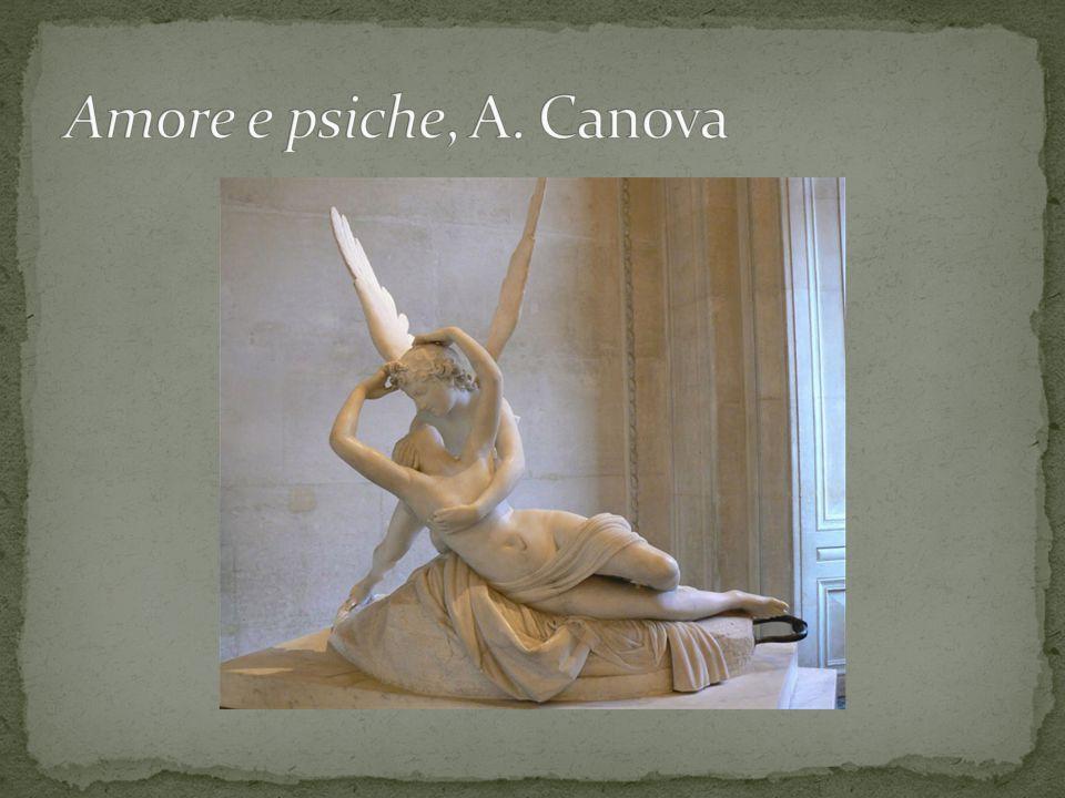 Amore e psiche, A. Canova