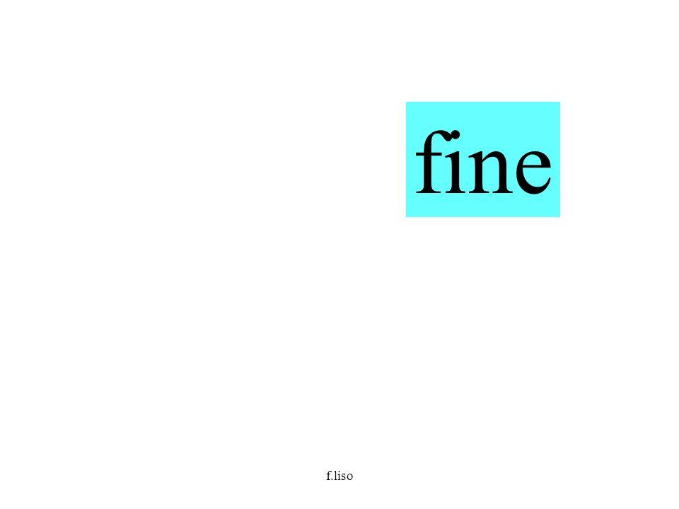 fine f.liso