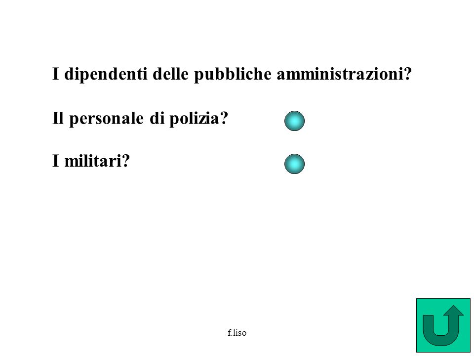 I dipendenti delle pubbliche amministrazioni