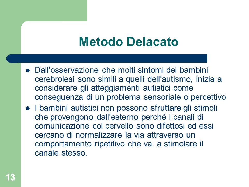 Metodo Delacato