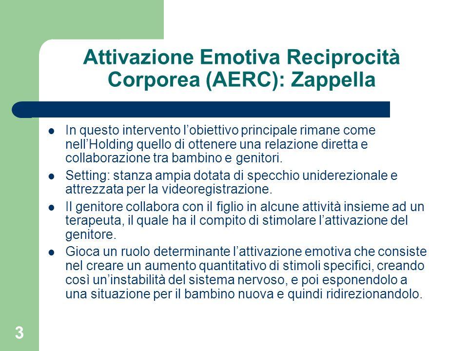 Attivazione Emotiva Reciprocità Corporea (AERC): Zappella