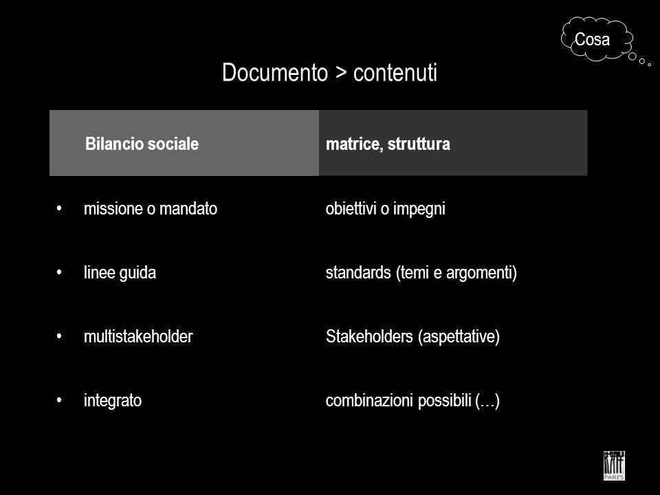 Documento > contenuti