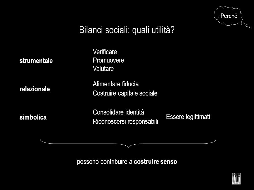 Bilanci sociali: quali utilità