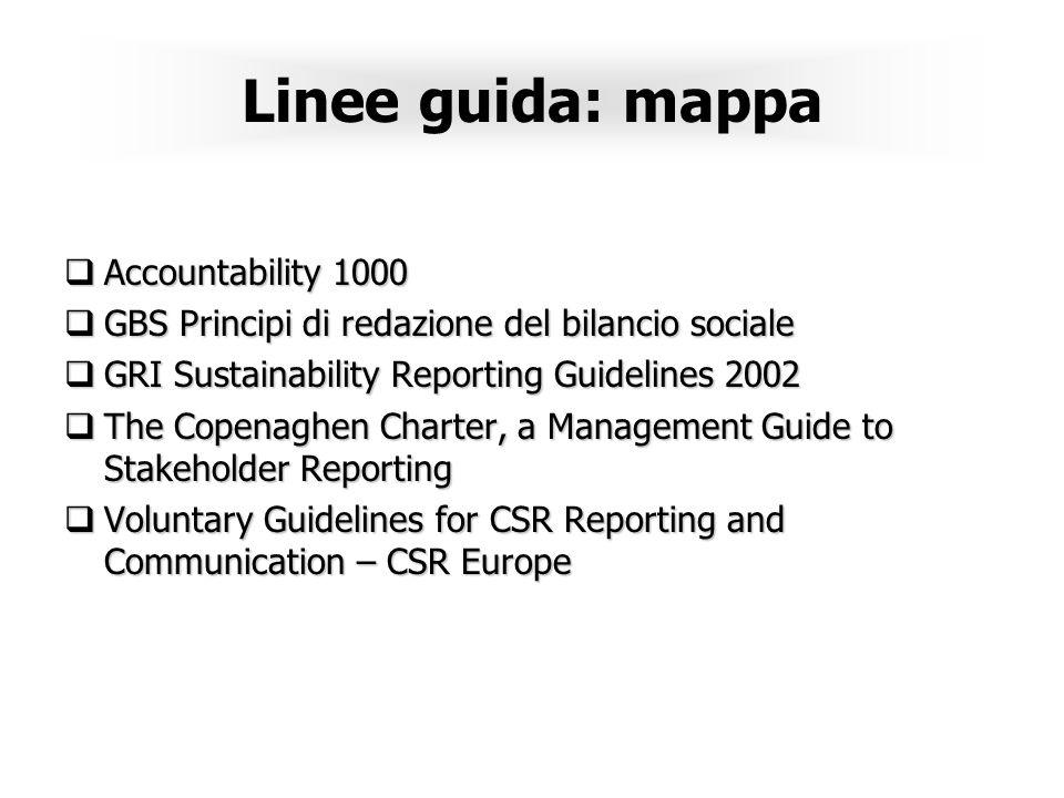 Linee guida: mappa Accountability 1000