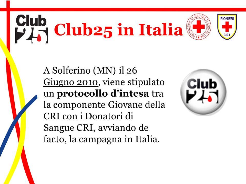 Club25 in Italia
