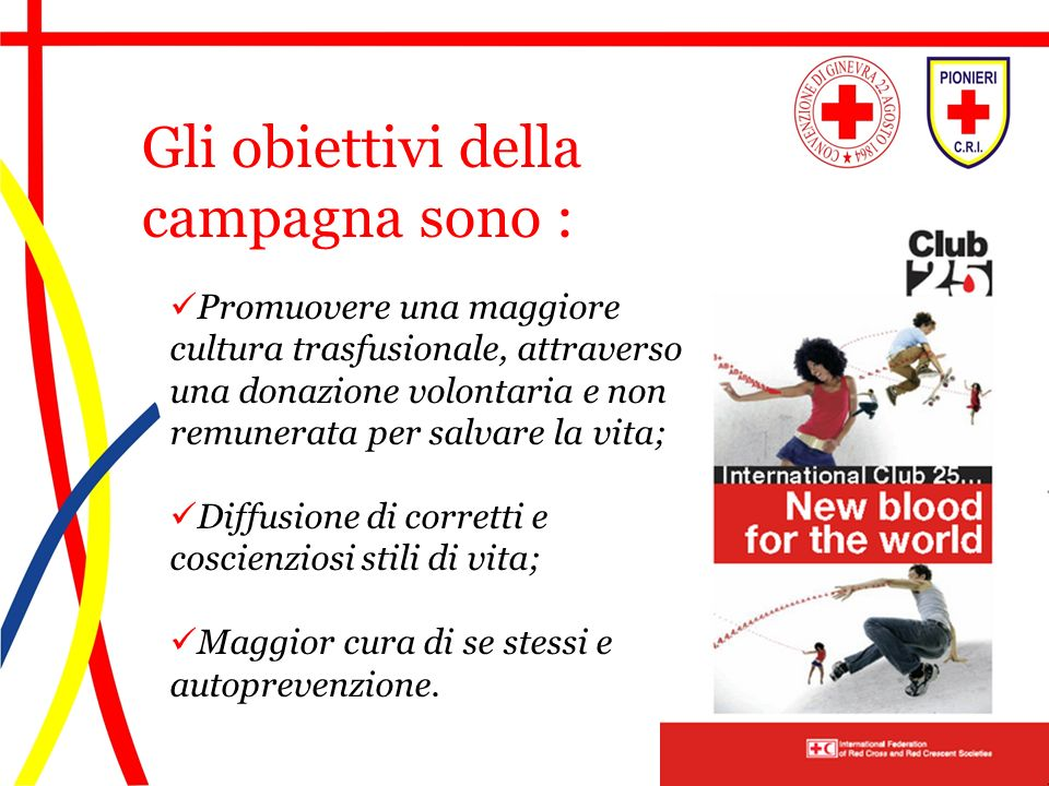 Gli obiettivi della campagna sono :