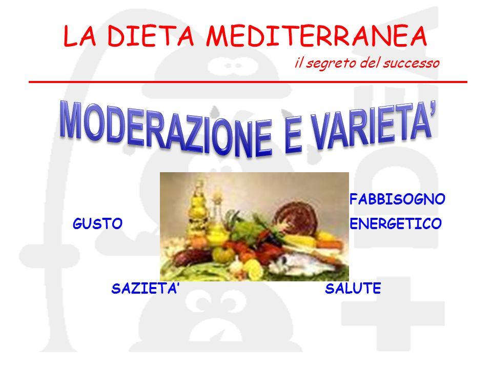 MODERAZIONE E VARIETA'