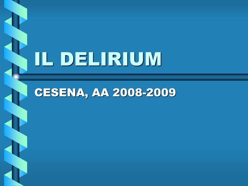 IL DELIRIUM CESENA, AA 2008-2009