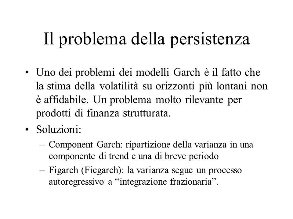 Il problema della persistenza