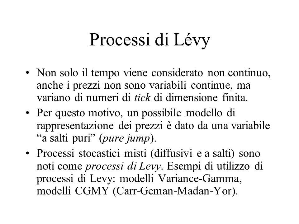 Processi di Lévy