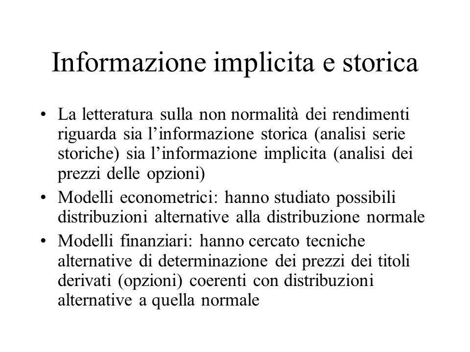 Informazione implicita e storica