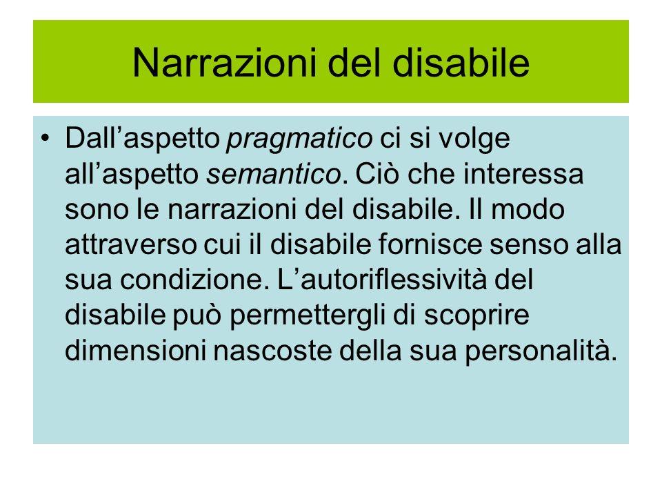 Narrazioni del disabile