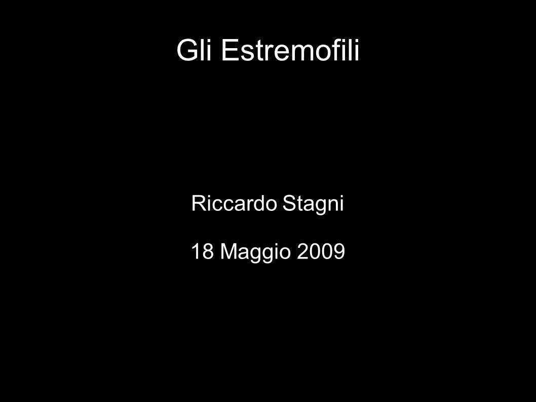 Riccardo Stagni 18 Maggio 2009