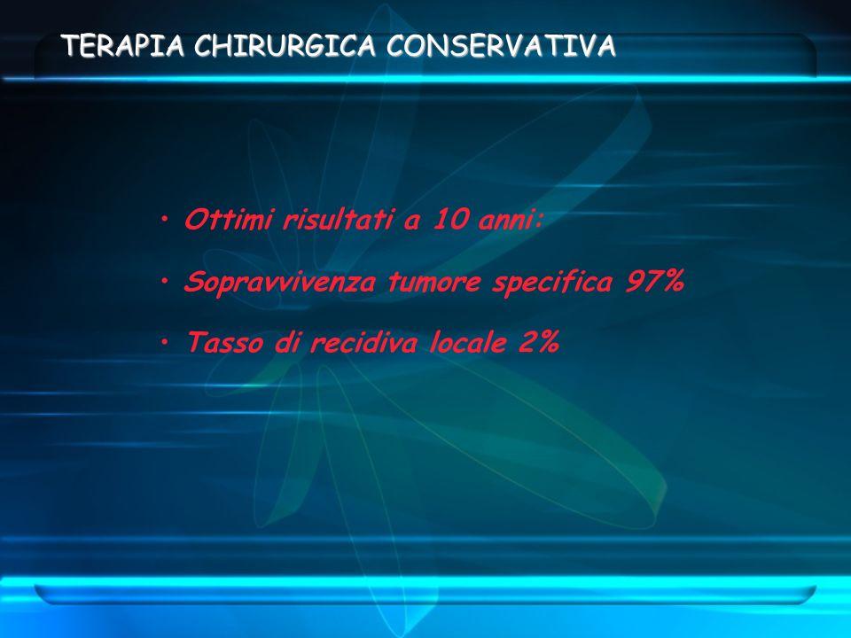 TERAPIA CHIRURGICA CONSERVATIVA