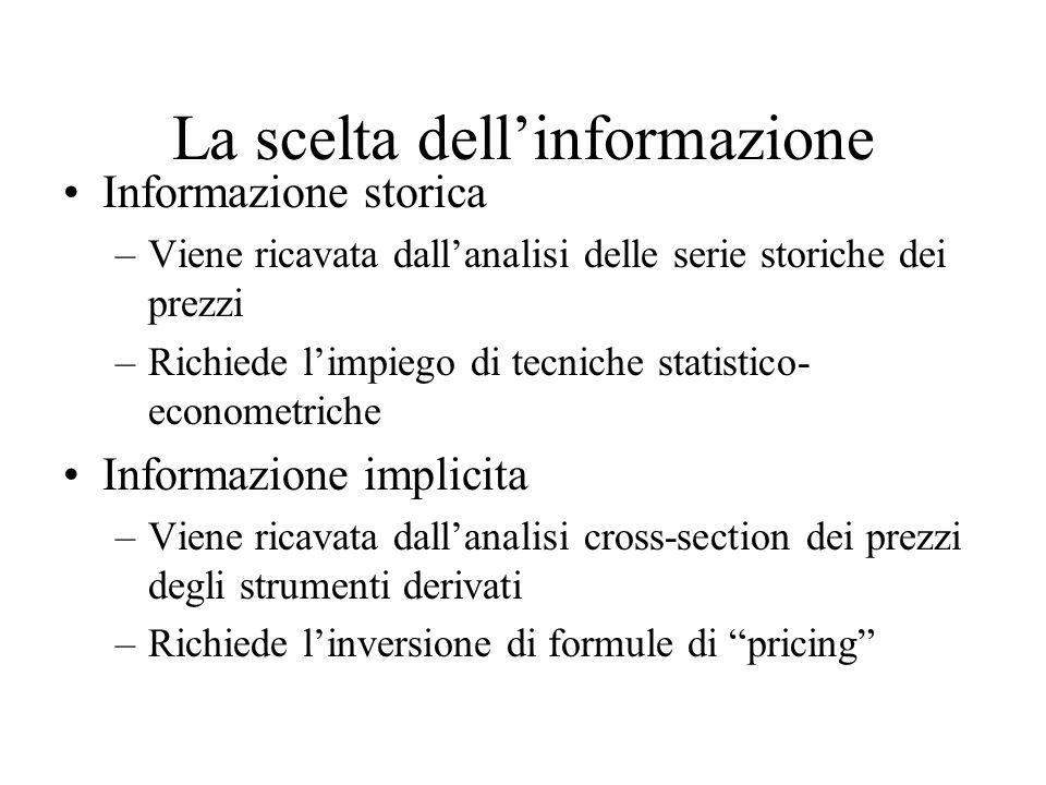 La scelta dell'informazione