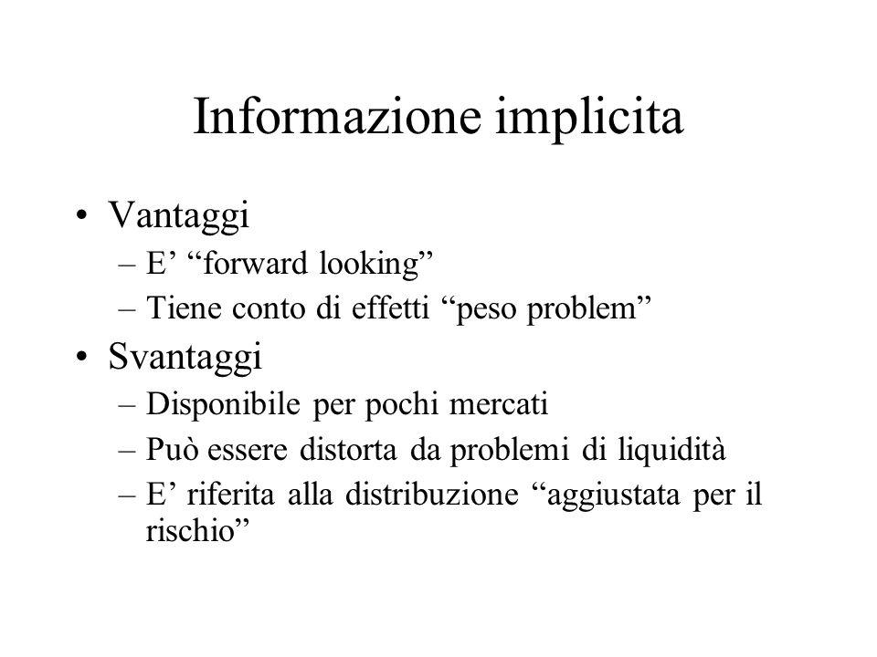Informazione implicita