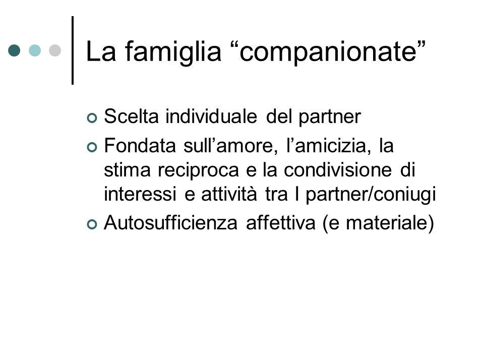 La famiglia companionate