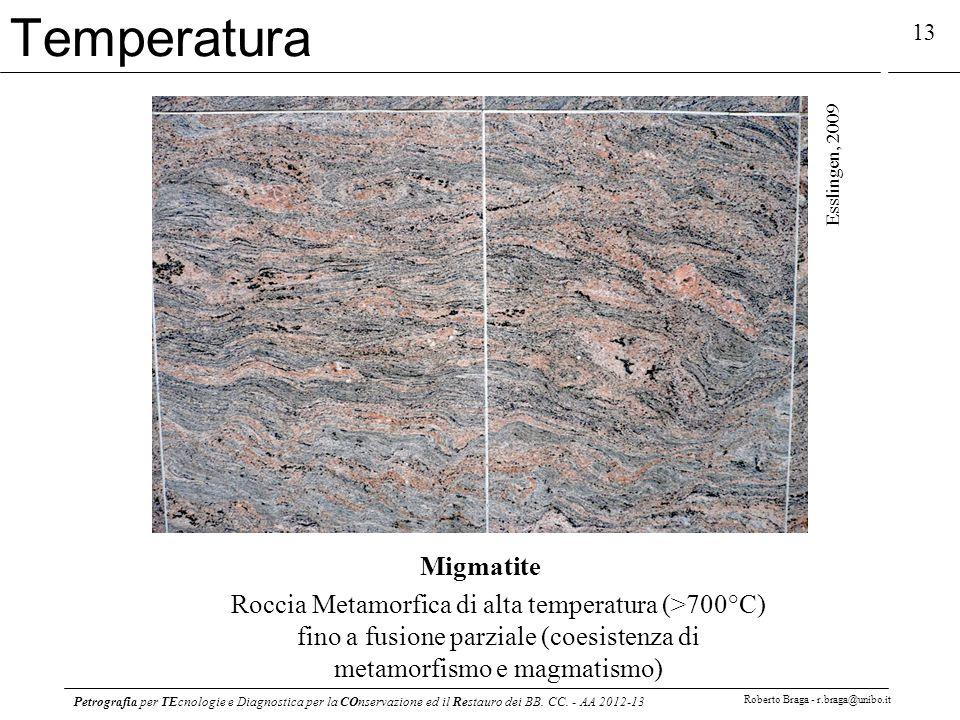 Temperatura Migmatite