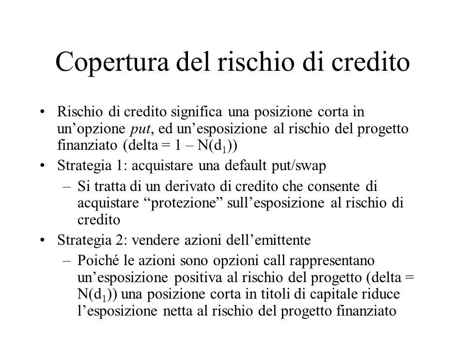 Copertura del rischio di credito