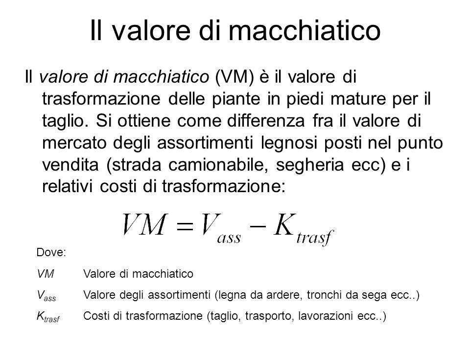 Il valore di macchiatico