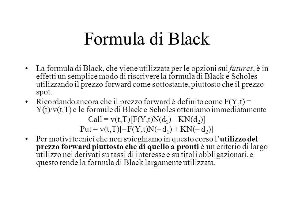 Formula di Black