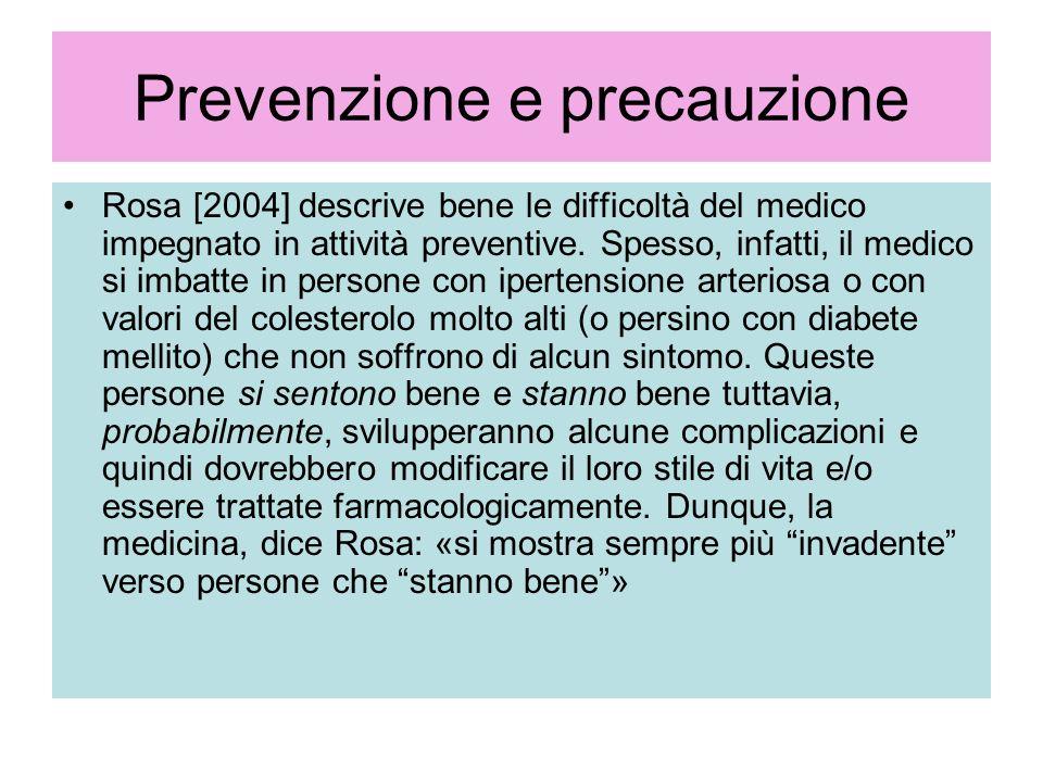 Prevenzione e precauzione