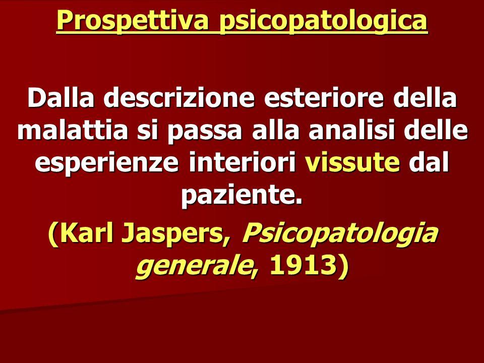 Prospettiva psicopatologica
