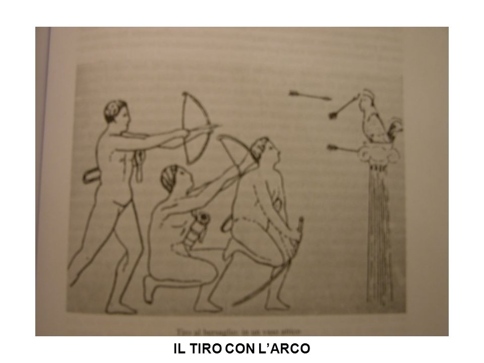 IL TIRO CON L'ARCO