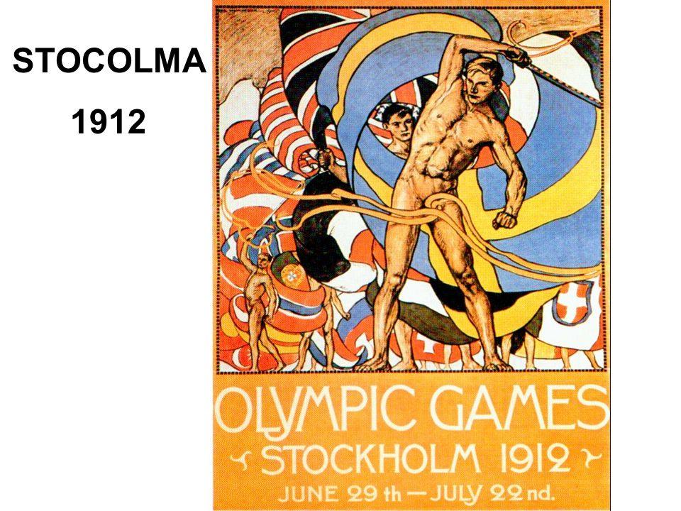 STOCOLMA 1912
