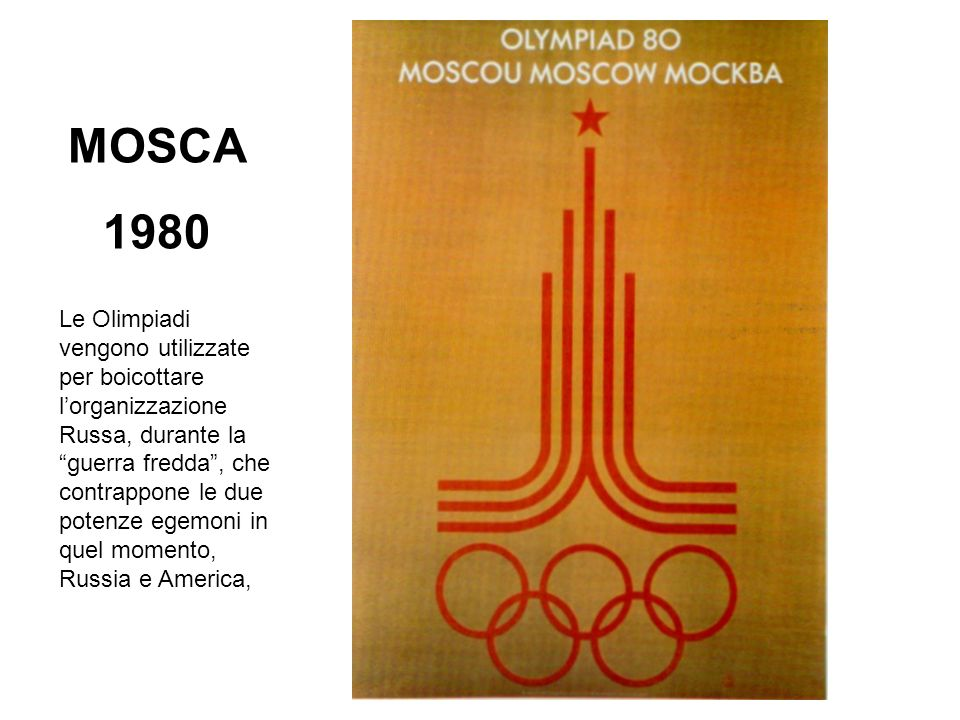 MOSCA 1980.
