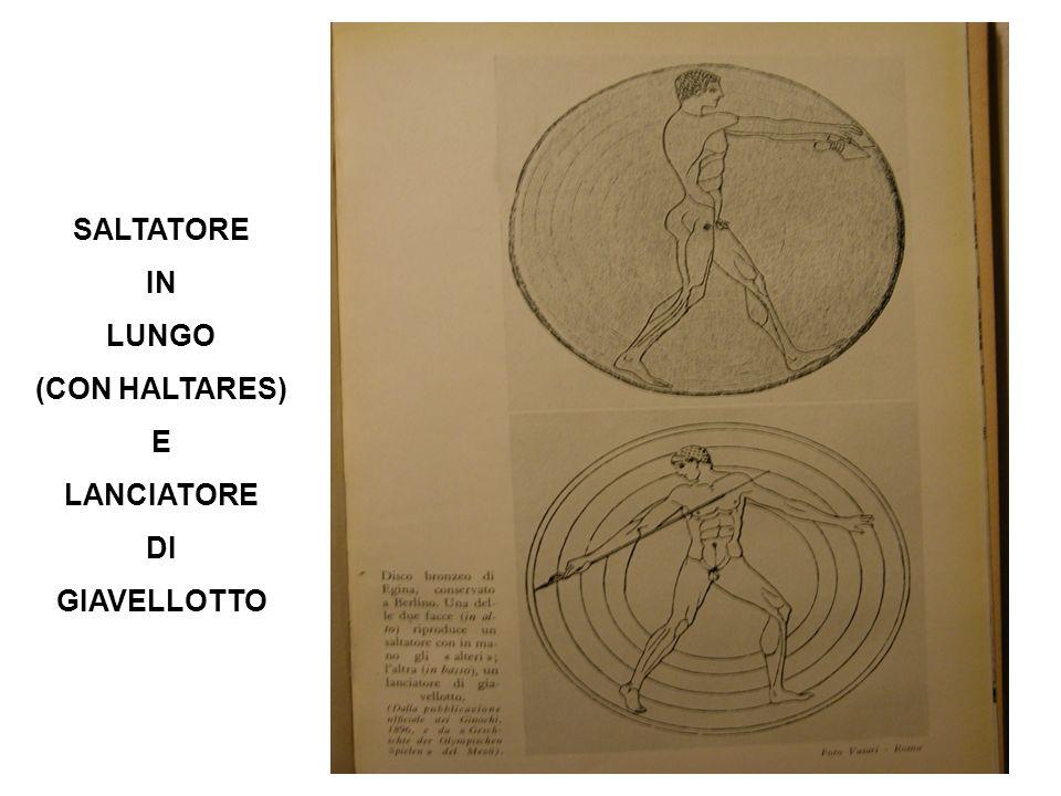 SALTATORE IN LUNGO (CON HALTARES) E LANCIATORE DI GIAVELLOTTO