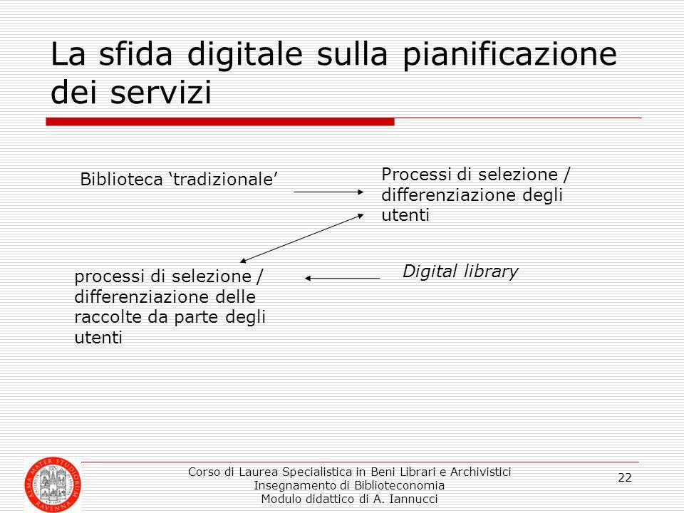 La sfida digitale sulla pianificazione dei servizi