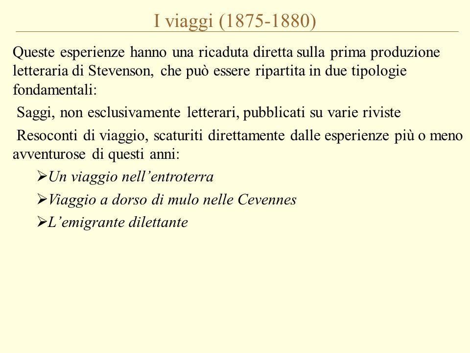 I viaggi (1875-1880)