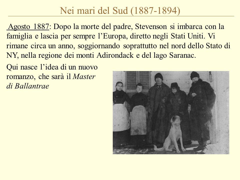 Nei mari del Sud (1887-1894)