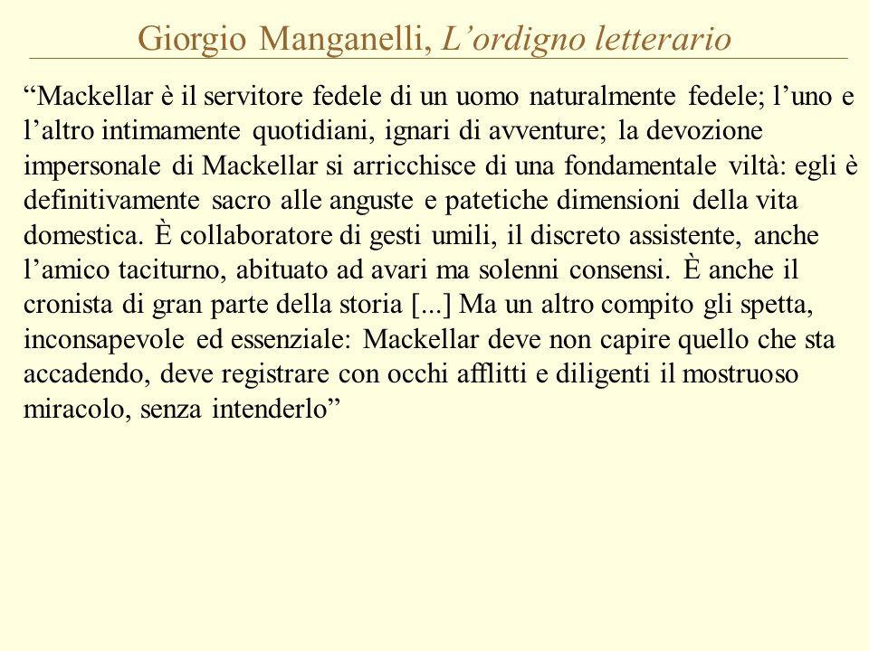 Giorgio Manganelli, L'ordigno letterario