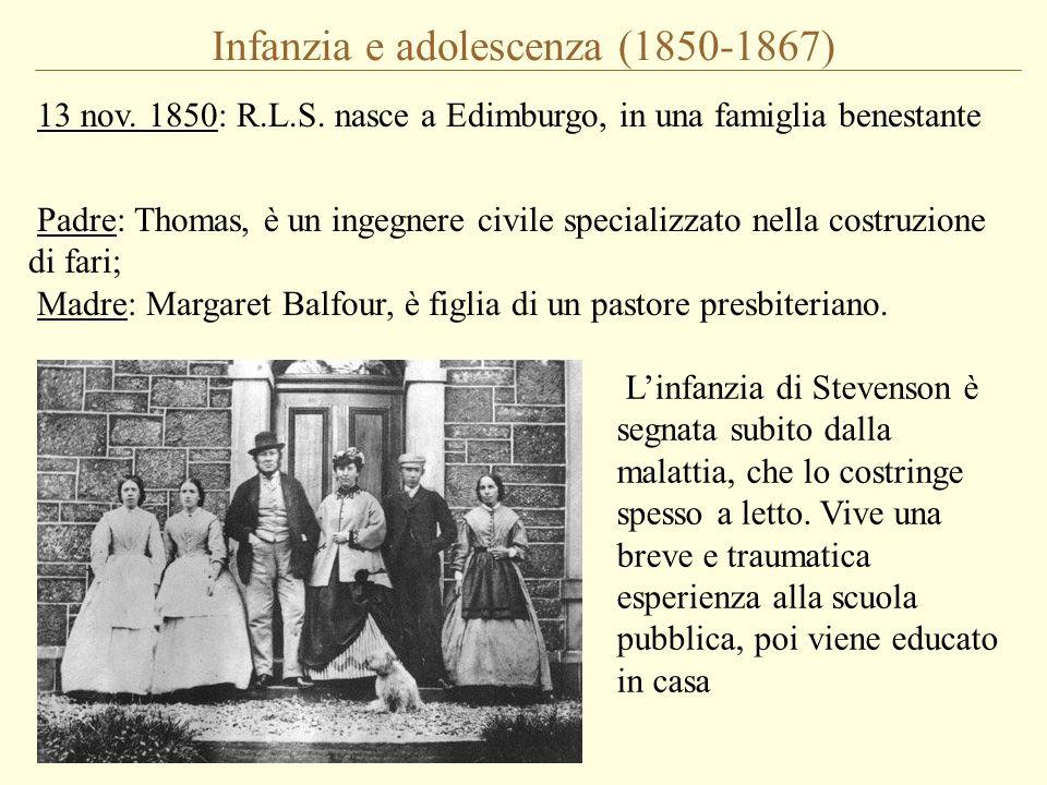 Infanzia e adolescenza (1850-1867)
