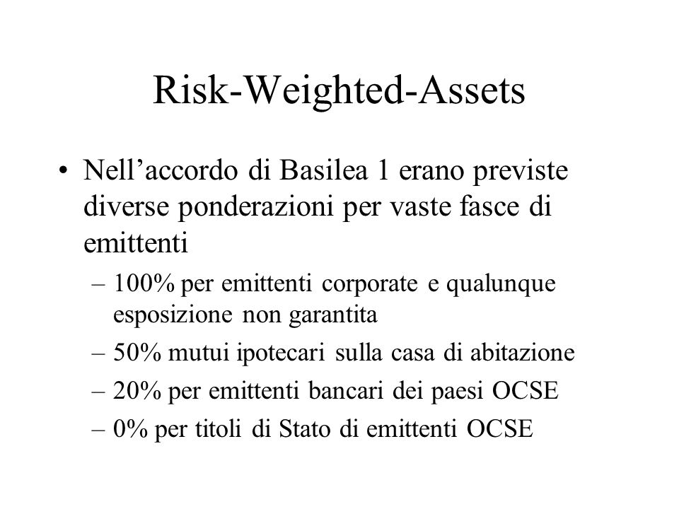 Risk-Weighted-Assets
