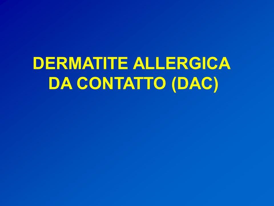 DERMATITE ALLERGICA DA CONTATTO (DAC)