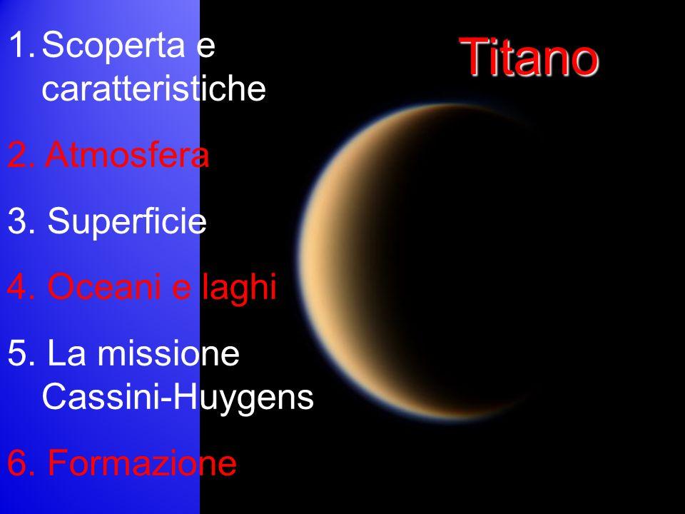 Titano Scoperta e caratteristiche 2. Atmosfera 3. Superficie