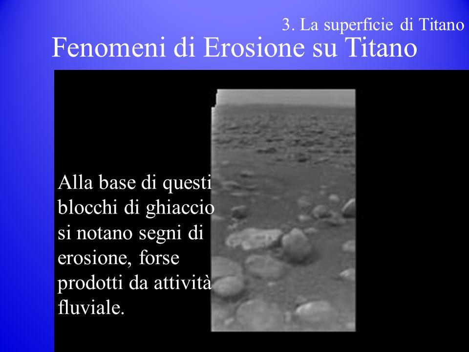 Fenomeni di Erosione su Titano
