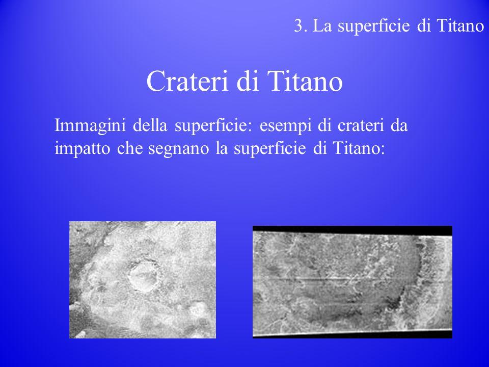 Crateri di Titano 3. La superficie di Titano