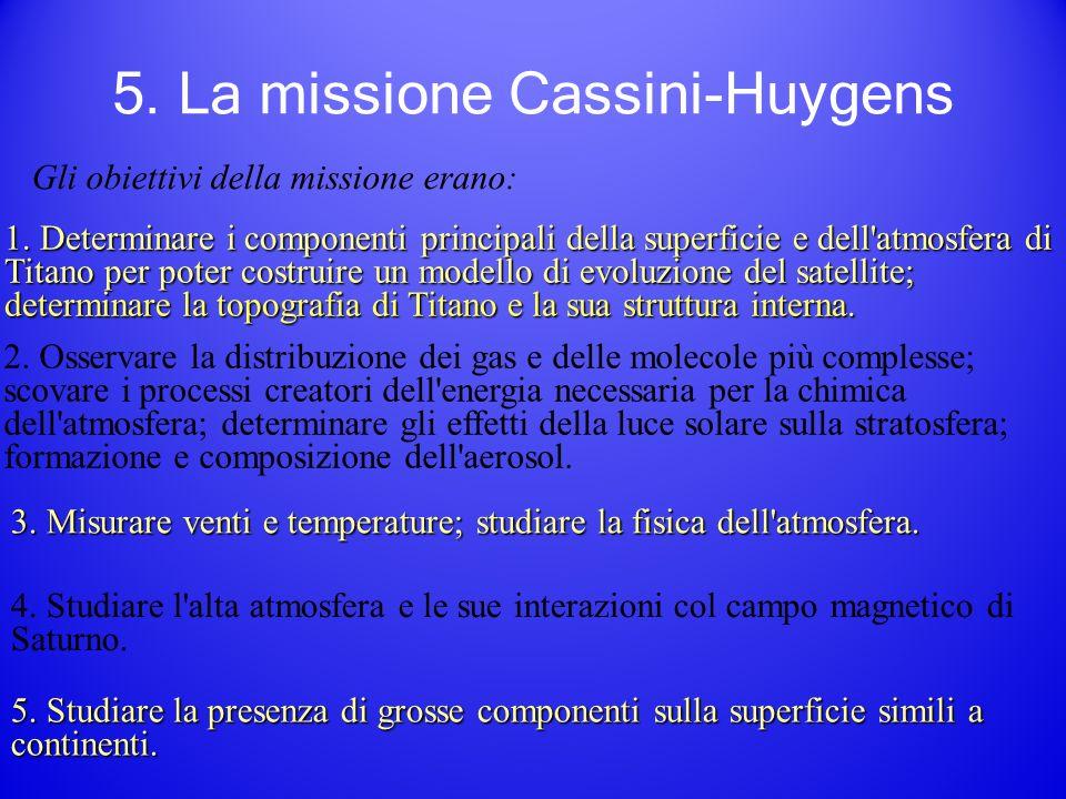 5. La missione Cassini-Huygens