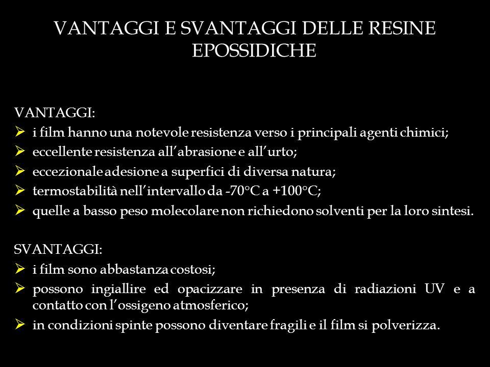 VANTAGGI E SVANTAGGI DELLE RESINE EPOSSIDICHE