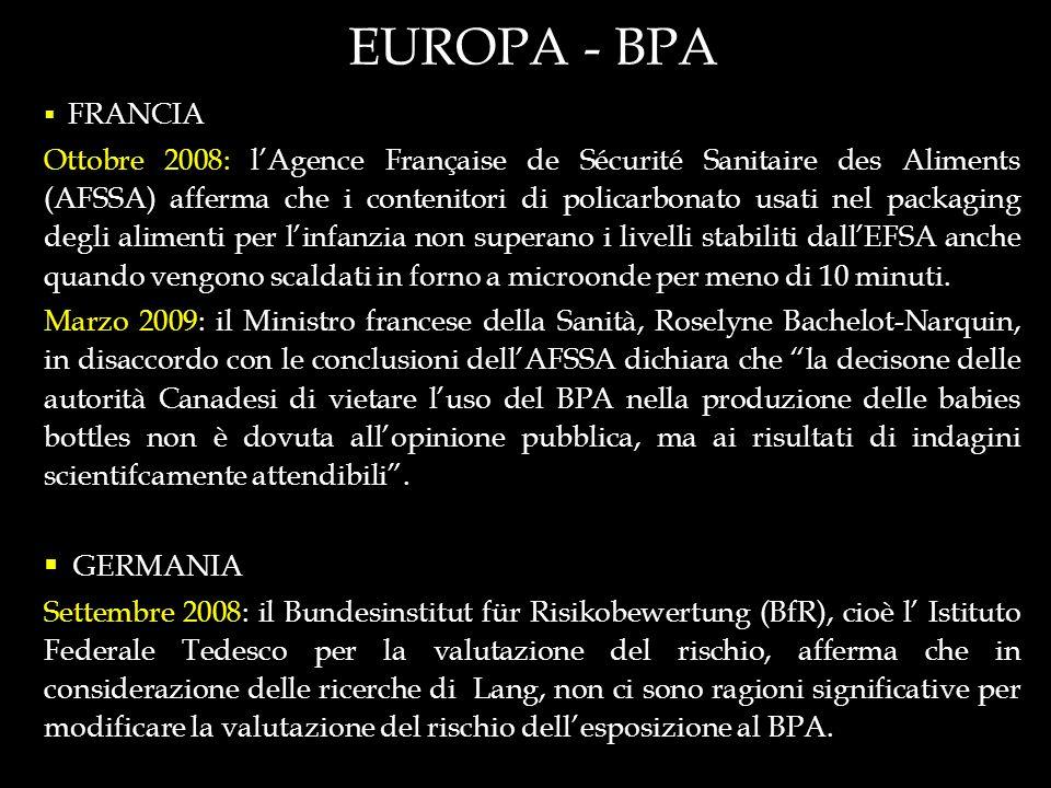 EUROPA - BPA FRANCIA.
