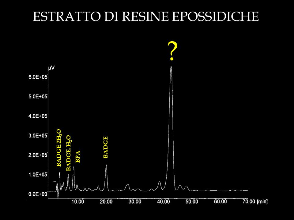 ESTRATTO DI RESINE EPOSSIDICHE