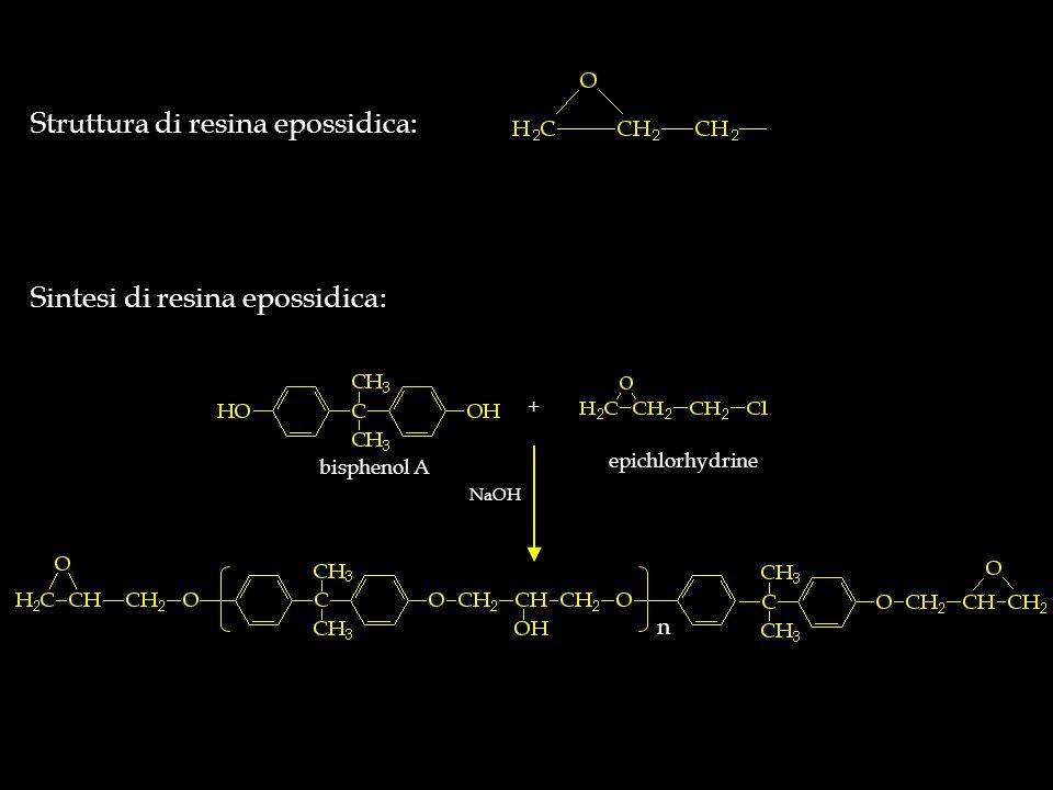 Struttura di resina epossidica: